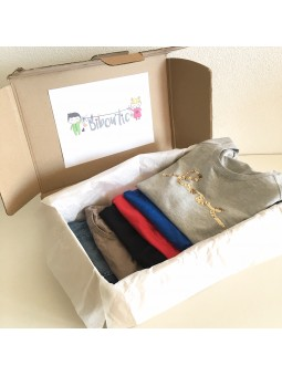 Maternity box: maternity and nursing clothes for rent - 6 pieces | Bibou'tic