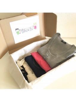 Maternity box: maternity and nursing clothes - 4 pieces | Bibou'tic