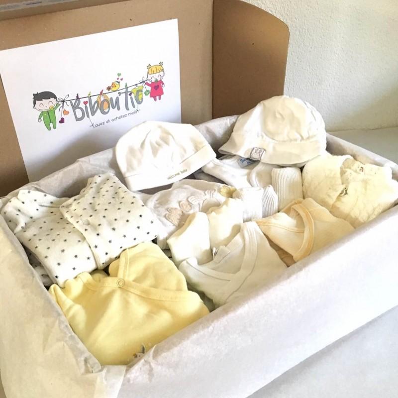 Box standard: vêtements unisexes pour bébé garçon ou fille | Bibou'tic