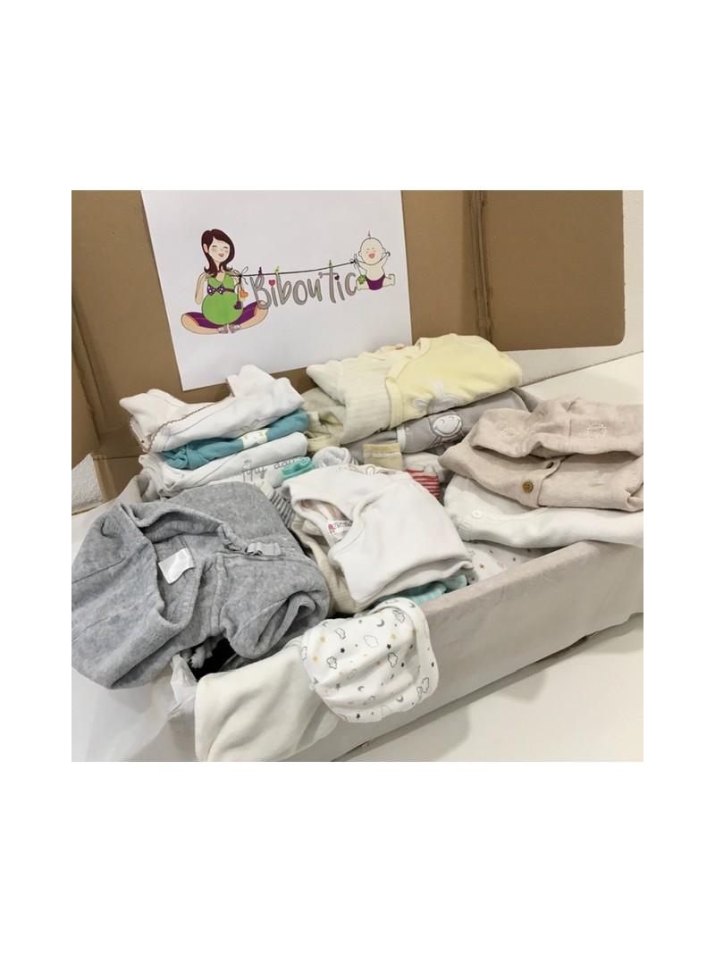 Box confort: vêtements unisexes pour bébé garçon ou fille   Bibou'tic