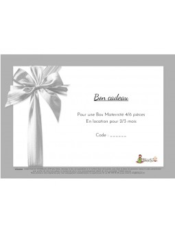 Gift voucher Maternity Box