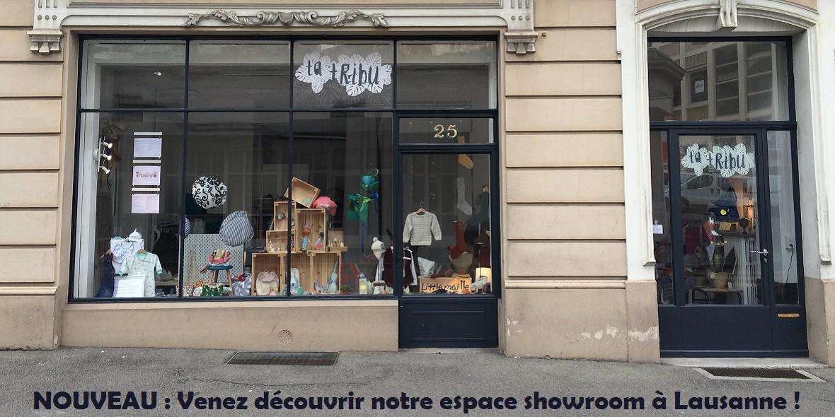 Notre espace showroom à Lausanne